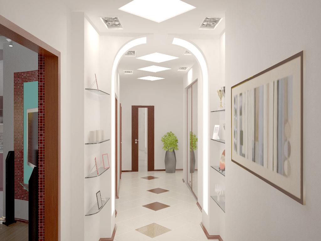Интерьер зала в квартире фото, дизайн маленького зала в ...