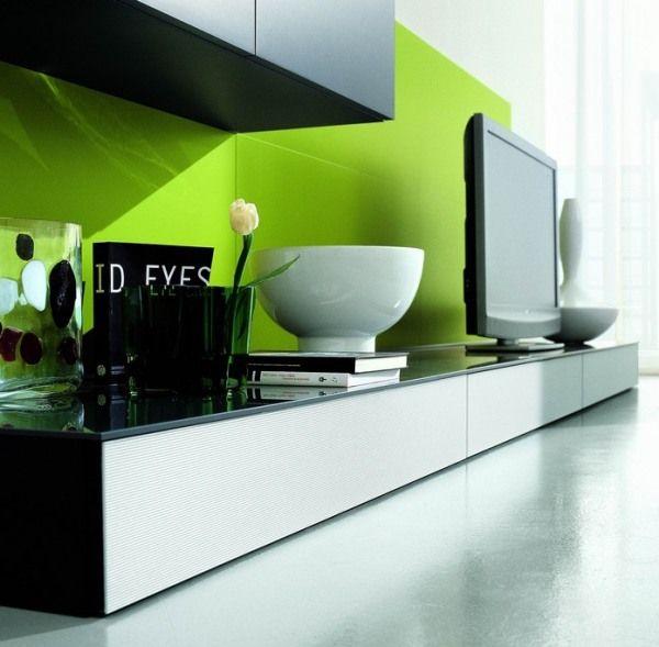 20 идей размещения телевизора в гостиной